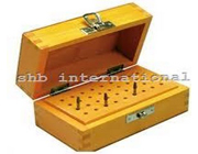Bur Box Wooden With 36 Holes