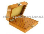Bur Box Wooden With 100 Holes