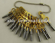 Set Of 14 Pocket Watch Keys Size 00 To 12