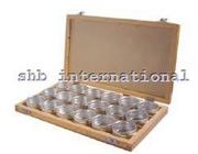 Wooden Box With Aluminiuam Container