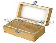 Wooden Bur Box With 72 Hole